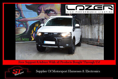 Lazer Lights VW Transporter T5 Grille Kit With Triple-R 750 Elite Light/Lamps
