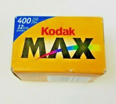 Vintage Kodak Max Versatility 400-Color print 35MM 12exp. dated 09/2004