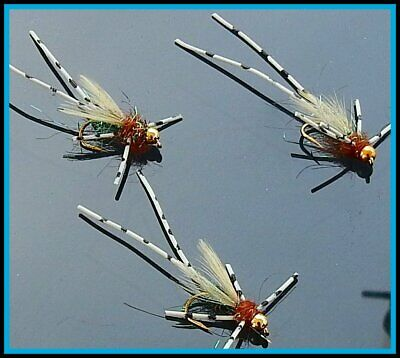 By Arc Fishing Flies UK Trout Flies UK Daddy long legs # 10 12 14 or Mixed OGB