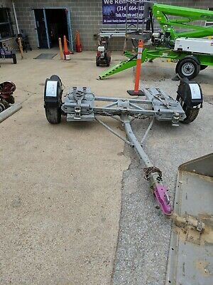 NEW 2019 MASTER TOW DOLLY Electric brakes RV car tote hauler