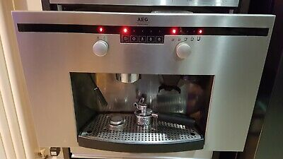 Aeg Integrated Coffee Machine Built In Coffee Maker Bean To