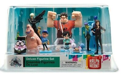 Wreck It Ralph 2 - Ralph Breaks The Internet- Deluxe 10 Figurine Set