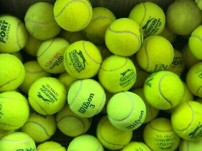 30 Used Tennis Balls For Dogs In Good Condition All Branded No Tears/Flat Balls
