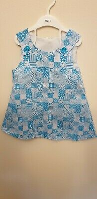 UK Summer Toddler Baby Girls Pinafore Sundress Clothes Age 3 Years