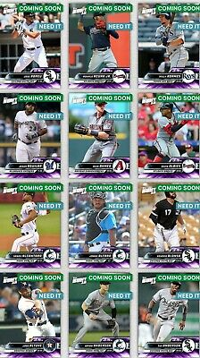Topps Bunt 2019 Premium Base Tier 7 Purple Choose The Digital Card 3.5x Boost