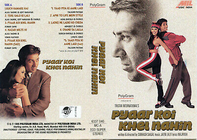 KOI KISISE KUM Nahin – 1997 Bollywood Indian Cassette (not
