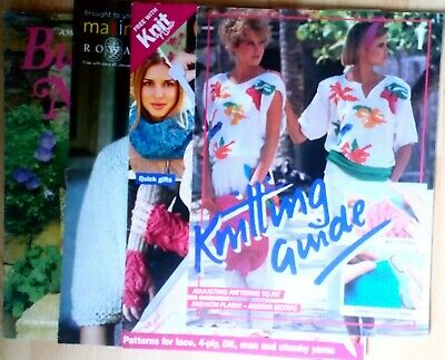 Selection Of Knitting Magazines Packed With Patterns and Ideas  Freepost UK