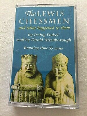 The Lewis Chessmen Audio Cassette Tape Irving Finkel Read by David Attenborough