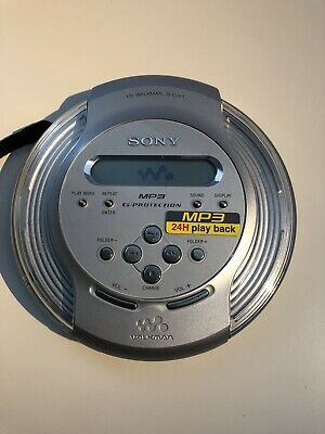 Sony D-CJ01 CD-R/RW MP3 CD Player Walkman WORKS TESTED