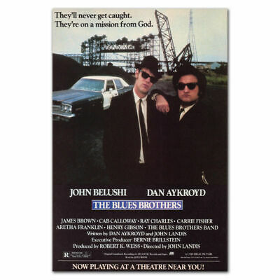 THE BLUES BROTHERS Movie Silk Poster Art Print 12x18 24x36 inch
