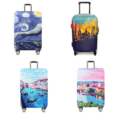 Cute Travel Luggage Suitcase Elastic Cover Case Dustproof Antiscratch Protector
