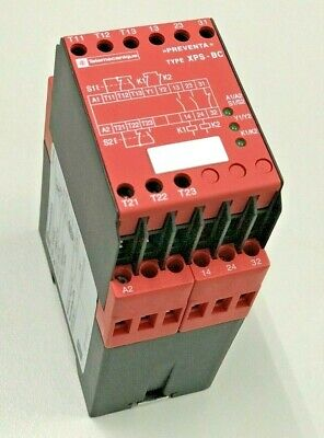 Telemecanique Safety Module 2 Hand Control Xps-Bc1110 Made In Germany 24Vdc