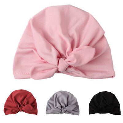 Decor Cap Baby Boy Kids Headwear Hat Toddler Girl Bow Knot Newborn Party Pink