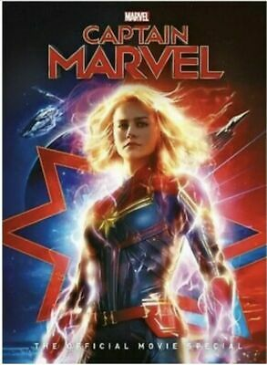 Captain Marvel DVD Ships  FAST FREE USPS SHIPPING!!