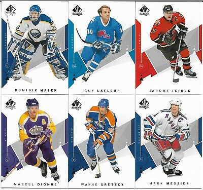 2018-19 Upper Deck SP Authentic Hockey Base 1-100 U Pick FREE COMBINE SHIPPING!!