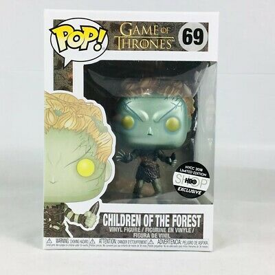 FUNKO POP! Game of Thrones: Children of The Forest METALLIC / NYCC 2018 #69 HBO
