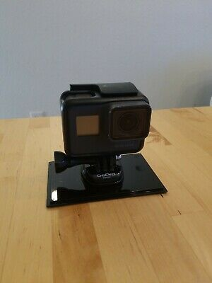 GoPro Hero 6 Black Edition Camera with accessories (mounts, harnesses, extras)