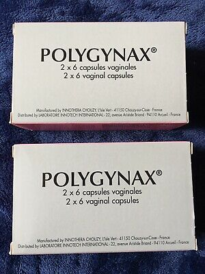 Polygynax- 6 vaginales capsules 2 Boxes
