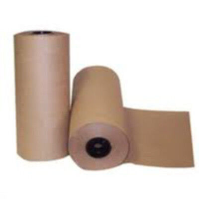 1x 500mm x 100m Brown Kraft Paper Wrapping Parcel Roll