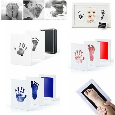 Inkless Wipe Baby Kit-Hand Foot Print Keepsake Newborn Footprint Handprint UK