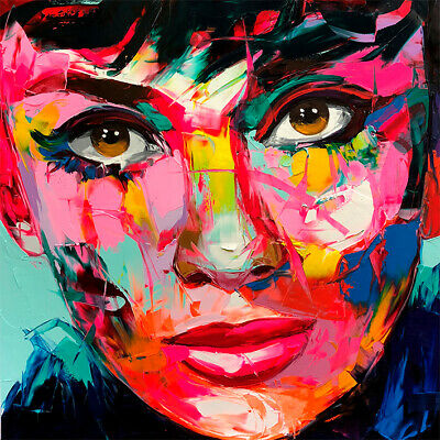 Audrey Hepburn Wall Art Print Stretched Canvas Prints Abstract Artwork Foolcolor