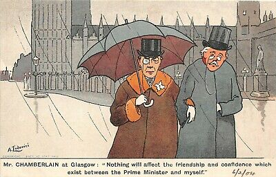 Ww1 Comic Satire Postcard Do You Smile By E Muller 9 95