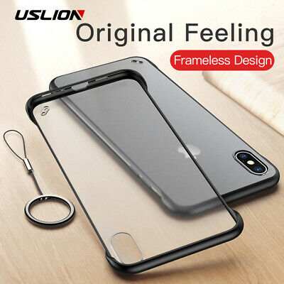 Ultra Thin Slim Hard Cover Shockproof Case For iPhone XS Max XR X 6 6s 7 8 Plus
