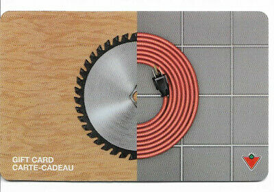 Canadian Tire Gift Card Var-Se-04 Saw Blade-Extension