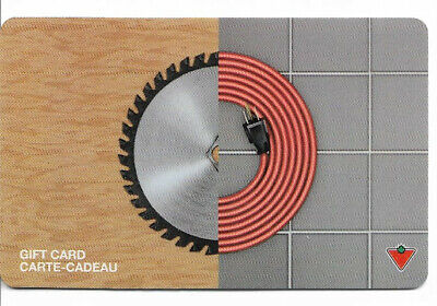 Canadian Tire Gift Card Var-Se-03 Saw Blade-Extension