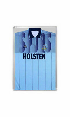 RETRO 1990s SPURS / TOTTENHAM HOTSPUR BLUE AWAY SHIRT (KLINSMANN) Fridge Magnet