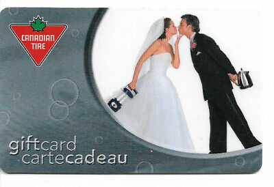 Canadian Tire Gift Card Var-Bg-01 Bride And Groom
