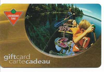 Canadian Tire Gift Card Var-Cr-01 Canoe Ride