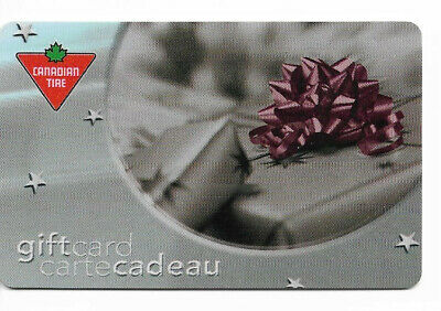 Canadian Tire Gift Card Var-Gb-10 Gray Gift Box