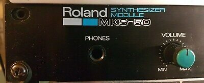 Roland MKS-50, Vintage Analog Synthesizer, very good condition improved P.Supply