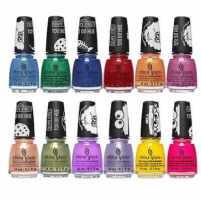 China Glaze - Sesame Street 2019 Nail Polish Collection - (12 X 14ml)