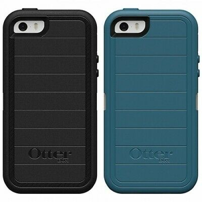 New! OtterBox Defender PRO For Apple iPhone 5, iPhone 5S & iPhone SE -No Clip