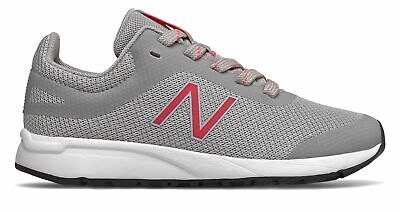 New Balance Kid's 455v2 Big Kids Female Shoes Grey with Pink