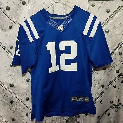 6b2d008e NFL INDIANAPOLIS COLTS Andrew Luck #12 Women's V-Neck Synthetic Lace ...