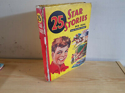 25 STAR STORIES FOR BOYS - 1940 - D. C. Thomson -