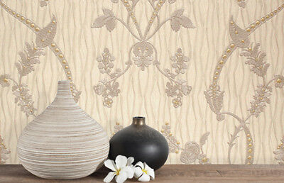 Luxury Designer Belgravia Decor Sanremo Smoke Wallpaper GB6513-A