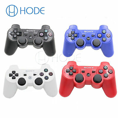 PS3 Playstation 3 Bluetooth Wireless Dualshock 3 SIXAXIS Controller for SONY UK