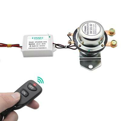 Car Battery Switch 12V Leakage Prevention Remote Control Power Disconnect Master