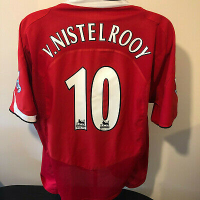 Manchester United Football Shirt 2004 2006 Man Utd Retro Classic Nike Holland