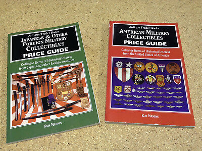 Antique Trader Books - American Military & Japanese & Other Military Guides