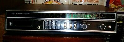 8 Track Player -- SEARS Stereo Receiver, Radio; MODEL 132.91362500