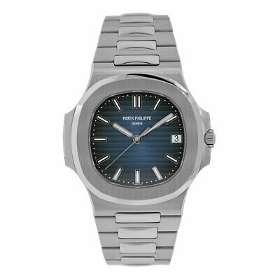 Patek Philippe Nautilus 40MM Blue Dial Stainless Steel Mens Watch 5711/1A-010