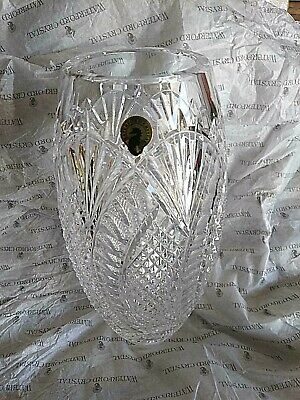 Waterford Seahorse Wedge & Diamond Cut Vase