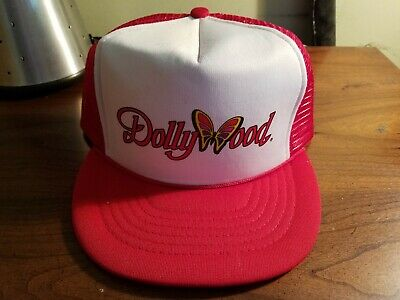 2bb8a487 VTG Rare 80s Dollywood Snapback Trucker Hat cap Dolly Parton Country Legend