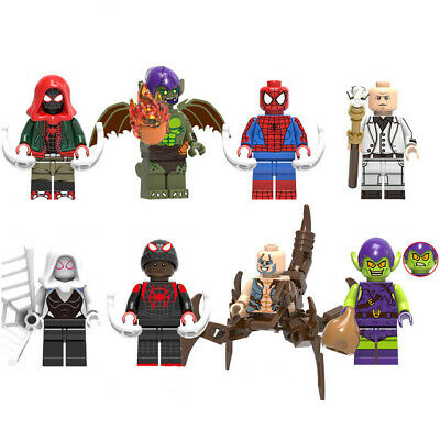 Marvel Super Heroes Spider-man: Into the Spider-Verse Mini Figures Compatible