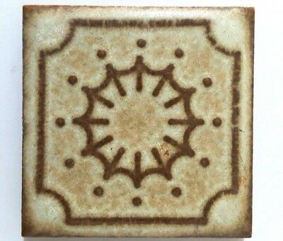 Vintage Retro Antique Ceramic Square Tiles Magnet Square 4.5 cm X 4.5 cm 120 Pcs